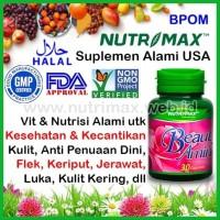 Nutrimax Beauty Amino Vitamin Kecantikan Kesehatan Kulit anti flex ORI