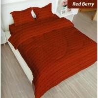 GROSIR SPREI LADY ROSE RED BERRY UKURAN 160X200, 180x200 Limited