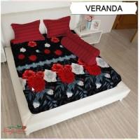 Promo GROSIR SPREI LADY ROSE VERANDA UKURAN 180X200, 160x200 Limited