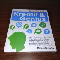 Cara Menjadi Kreatif & Genius