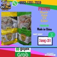PROMO go-sen pasir kucing join premium paket 3 karung mirip cub n kit