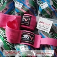 BN Fight Pink Hand Wrap Handwrap MMA Muay Thai Body Combat Boxing