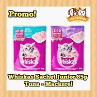 Whiskas Sachet Junior 85g / Makanan Kucing / Whiskas Kitten / WetFood