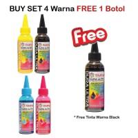 Promo SUN Tinta Art Paper Epson DURA ULTRA INK 100 ml (1 Set 4 Warna)