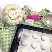 SNOW BALL Cookies KUE PUTRI SALJU Pas utk Buah tangan Gift LEBARAN DLL
