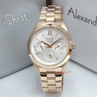 Alexandre Christie AC 2828 BF AC2828 BF 2828BF 2828 BF Rose Gold White