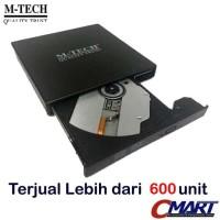 M-TECH DVD External Laptop Portable dvdr dvdrw eksternal - DVDRW-USB2
