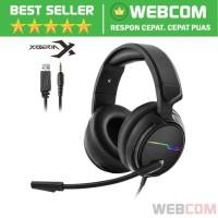 Gaming Headphone LED 7.1Channel 3.5mm Dengan Mic NUBWO Xiberia V20