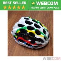 Helm Sepeda EPS Foam PVC Shell Bike Helmet Racing - Helm Sepeda Santai