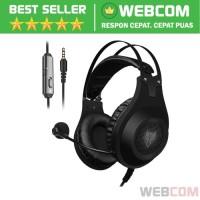Gaming Headphone Headset Hi-Fi Class Dengan Microphone NUBWO N2