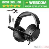 Gaming Headphone Headset Dengan Microphone Hi-Fi Class 1.6M NUBWO N12