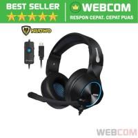 Gaming Headphone Headset LED 7.1 Sound Channel Dengan Mic NUBWO N11
