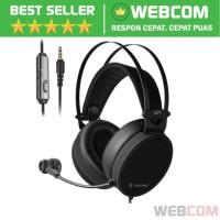 Gaming Headphone Headset Hi-Fi Dengan Microphone NUBWO Xiberia N7