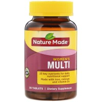 Nature Made Multi For Women Tablets With Iron & Calcium 90 Tablets