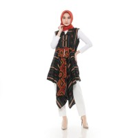 Qaireen Moez - Dhea Outer Dress - All Size