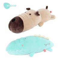 Inone Cute Dog and Crocodile plush toy Boneka Anjing dan Buaya