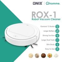 Onix Rox Robot Vacuum Cleaner Pembersih Lantai Otomatis Vakum Debu