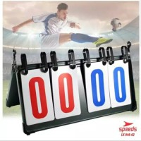 Score Board Papan Skor 4 digit untuk Futsal Sepak Bola Original