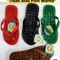 sandal pijat refleksi terapi jepit akupuntur sandar kesehatan
