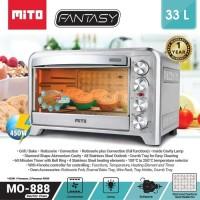 Electric Oven MITO FANTASY 33L MO-888 ORIGINAL GARANSI RESMI