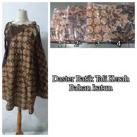Daster Klok Tali Kerah Bahan Katun (All size)