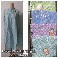 Daster Klok Tali Tengah Warna Soft Bahan Katun (All Size)