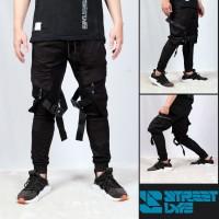 Streetlyfe Jogerpants Ninja Hypebeast / Celana Jogger Pria