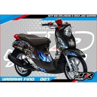Decal Sticker Yamaha Fino motif PUBG