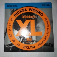 Senar Gitar Daddario Electric XL 10-46 Nickel Wound Made in USA
