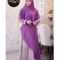 dress syari muslim wanita pesta