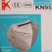 Masker N95 / KN95 KSL! hati masker MURAH palsu pakai embosed kn95