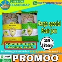 Pasir join 25 liter (paket 3 karung) pasir join Pasir kucing murah