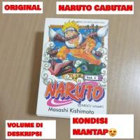 KOMIK NARUTO CABUTAN / MURAH / ORIGINAL / BEKAS / 1
