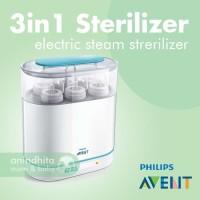 PHILIPS AVENT 3-in-1 Electric Steam Sterilizer Steril Botol Susu Bayi