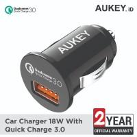 Aukey Car Charger 1 Port 18W USB QC 3.0 - 500195