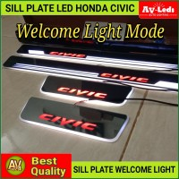SILLPLATE LED HONDA CIVIC TURBO WELCOME LIGHT (Audi Style)