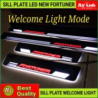 SILL PLATE SillPlate LED FORTUNER VRZ TRD WELCOME LIGHT (Audi Style)