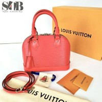 Louis Vuitton Original - Tas LV Alma BB Epi Red