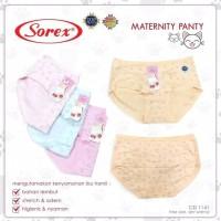 SOREX Cd Hamil Hipster Motif 1141 Mini Maternity Panties Original