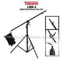 BOOM Arm Stand Lampu Foto Video Studio 250cm Mini Jib