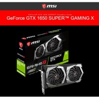 MSI GeForce GTX 1650 SUPER 4GB DDR6 - Gaming X