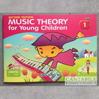 Buku Music Theory for Young Children Book 1-4