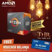 AMD Ryzen 5 3500X Processor, AM4, 6 Core CPU