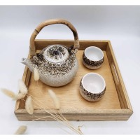 Parcel Agung Keramik Tea Set Trotol Parcel Ultah Wedding Lebaran Natal