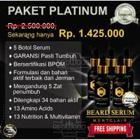 MONTCLAIR BEARD SERUM / SERUM PENUMBUH BREWOK PAKET PLATINUM