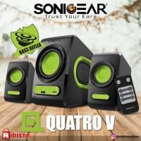 Speaker aktif Sonic gear Quatro V Speaker 2.1 Extreme Bass