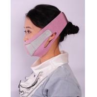 Thin Face Mask Slimming Facial Double Chin Skin Bandage Belt Pink