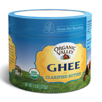 * Organic Valley Ghee Pure Farms Butter 212gr