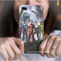 Casing hard case iPhone Power Rangers Movie F0 11 X Xs 7 8 6 SE Pro Ma