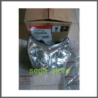 lampu depan / reflektor honda supra X 125 fi injection ori AHM